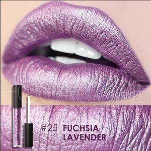 Matte Metallic Liquid Lipstick Fuschia Lavender
